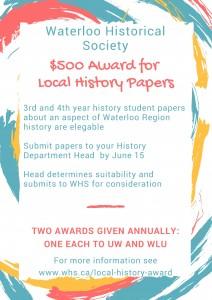 Local History Award